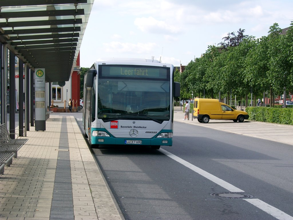 in Schwetzingen am Bahnhof