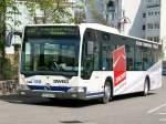 Busse/64340/der-citaro-fr-h-1223-der-sweg Der Citaro FR-H 1223 der SWEG beim Warten auf weitere Fußballfans am Sinsheimer Hauptbahnhof. 10.04.2010
